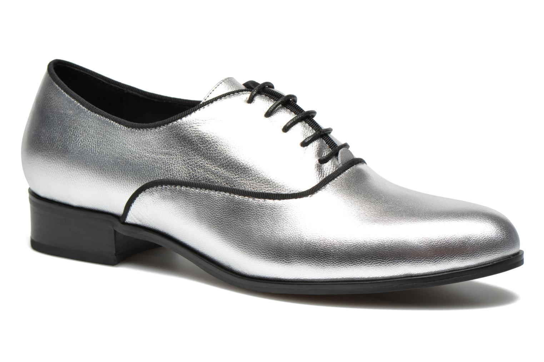 Chaussures à lacets Shoe the bear Gigi Argent vue détail/paire