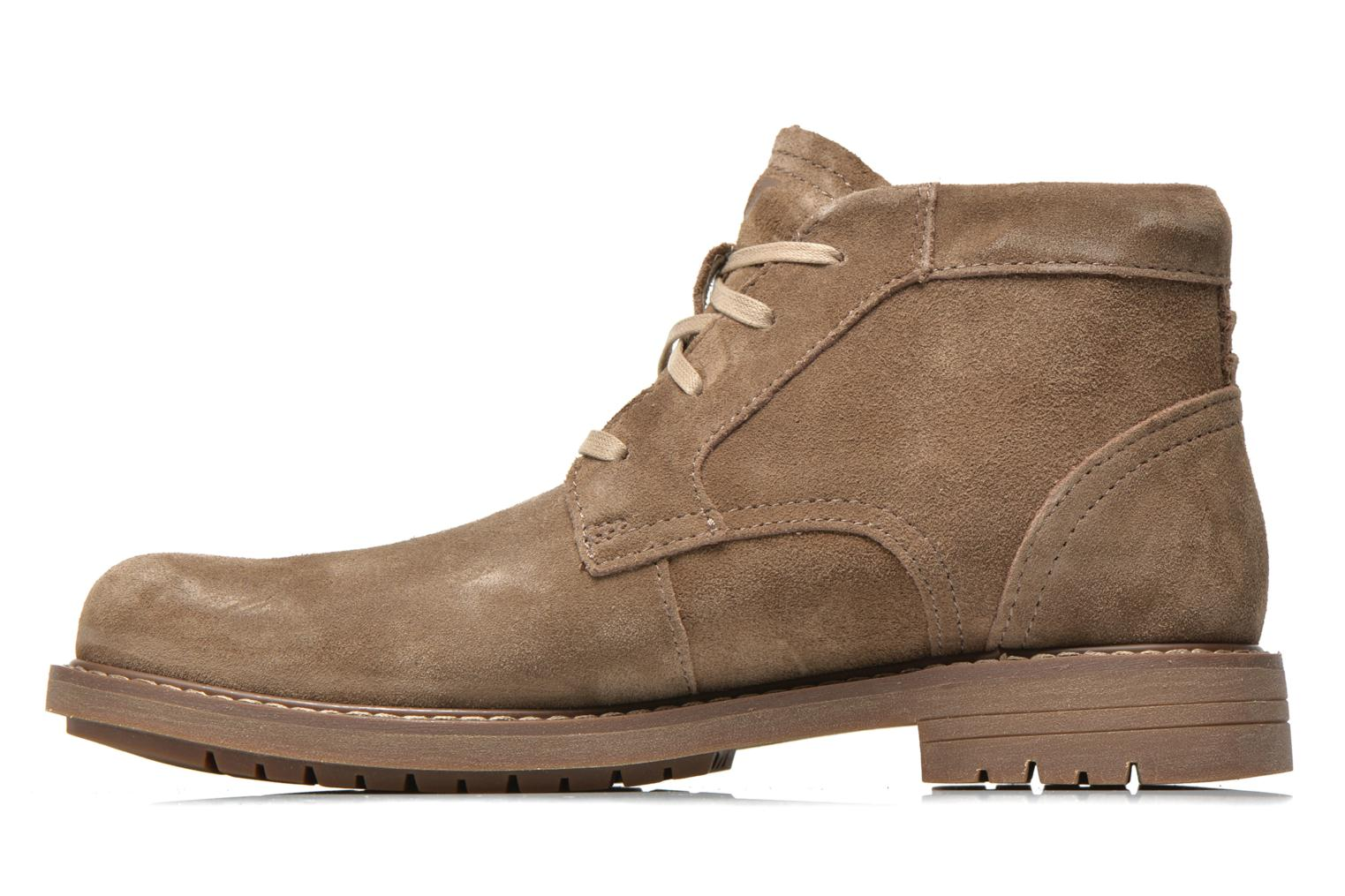 Bottines et boots Caterpillar Brock Marron vue face