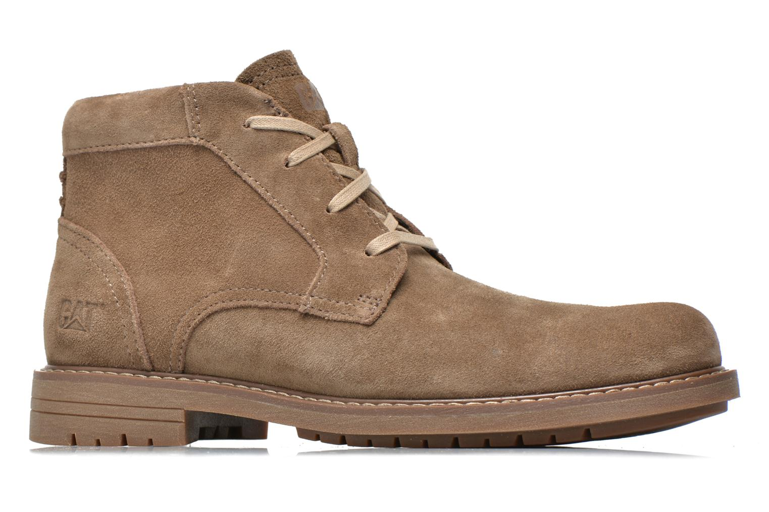 Ankle boots Caterpillar Brock Brown back view