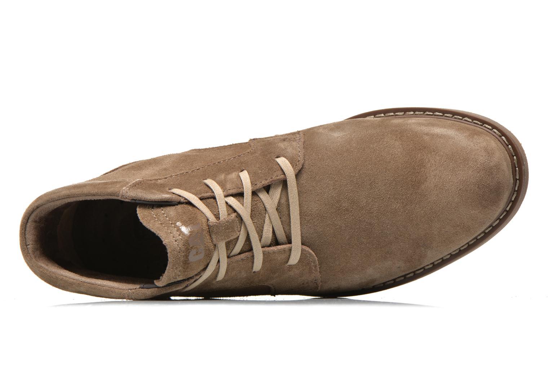 Stiefeletten & Boots Caterpillar Brock braun ansicht von links