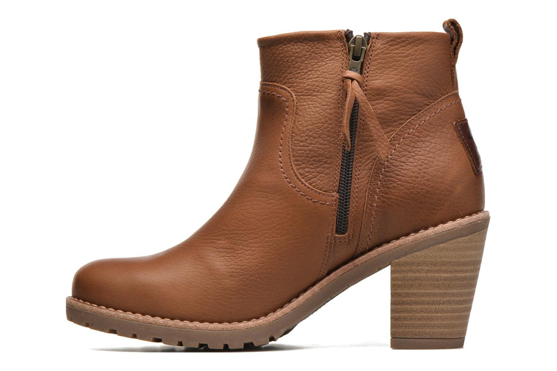 Bottines et boots Panama Jack Arles Marron vue face