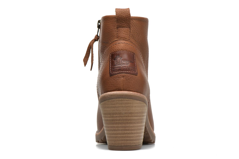 Bottines et boots Panama Jack Arles Marron vue droite
