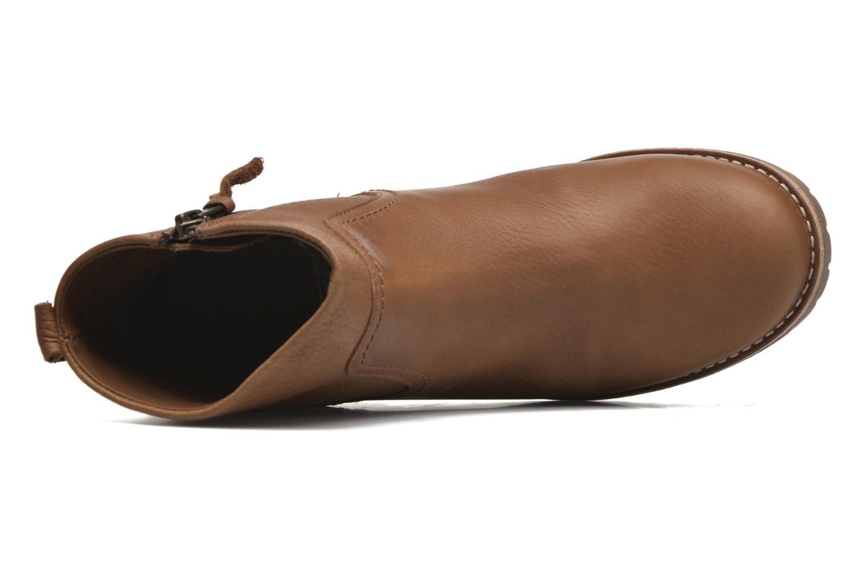 Bottines et boots Panama Jack Arles Marron vue gauche