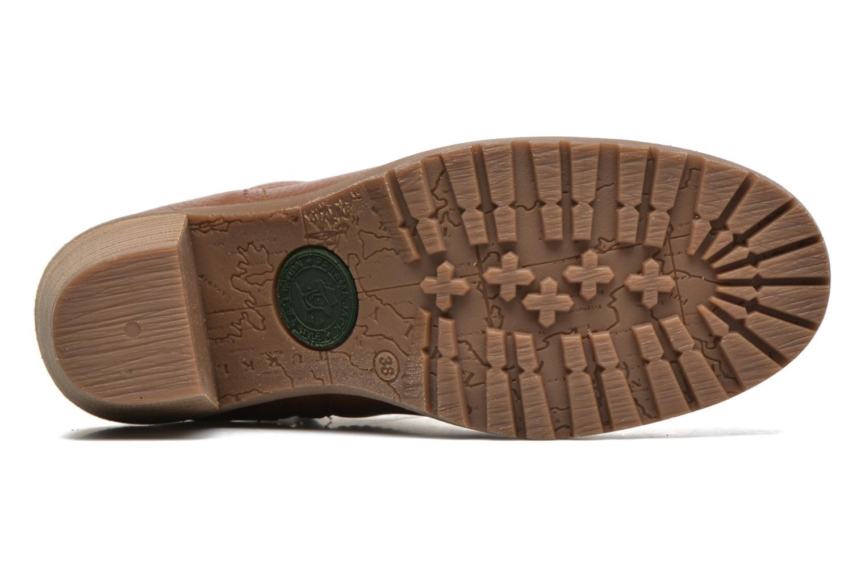 Bottines et boots Panama Jack Arles Marron vue haut