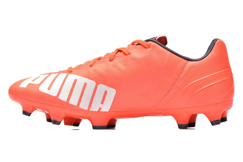Chaussures de sport Puma Evospeed 4 4 FG Orange vue face