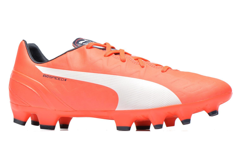 Chaussures de sport Puma Evospeed 4 4 FG Orange vue derrière