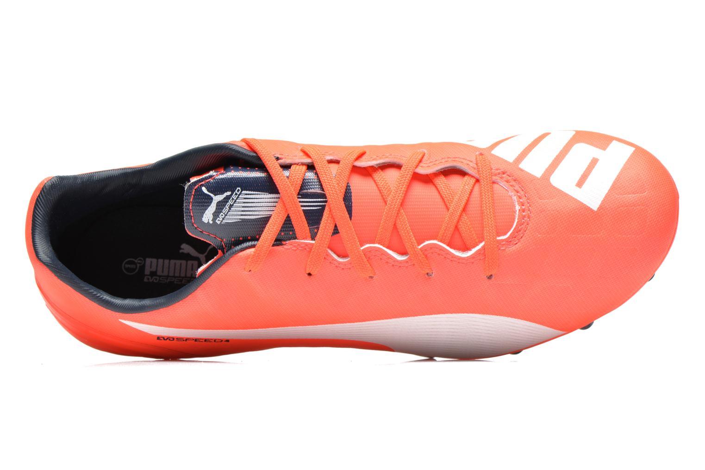 Chaussures de sport Puma Evospeed 4 4 FG Orange vue gauche