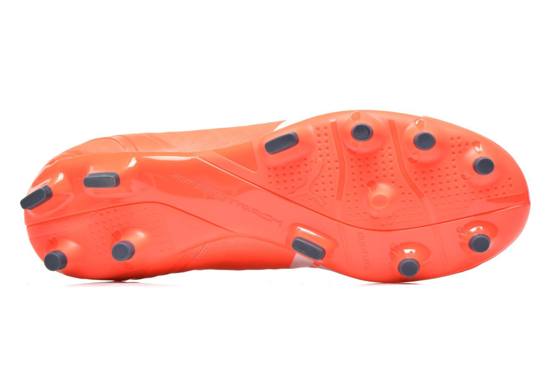 Chaussures de sport Puma Evospeed 4 4 FG Orange vue haut