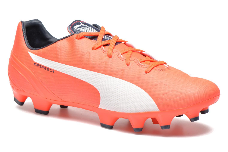 Chaussures de sport Puma Evospeed 4 4 FG Orange vue détail/paire