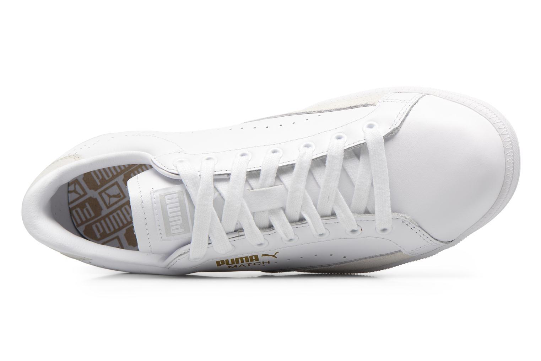 Baskets Puma Match 74 Up-Core Blanc vue gauche