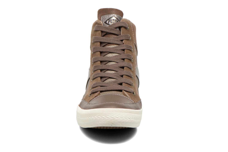 Baskets P-L-D-M By Palladium Baker Mix Marron vue portées chaussures