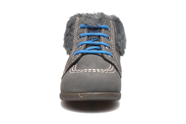 Boots Kickers Babyfrost Grå bild av skorna på