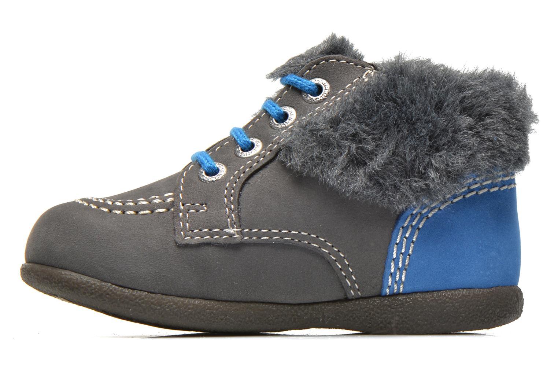 Stiefeletten & Boots Kickers Babyfrost grau ansicht von vorne