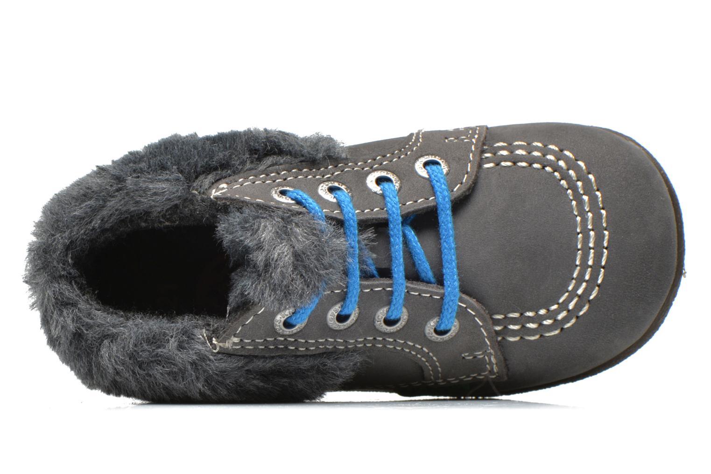 Stiefeletten & Boots Kickers Babyfrost grau ansicht von links