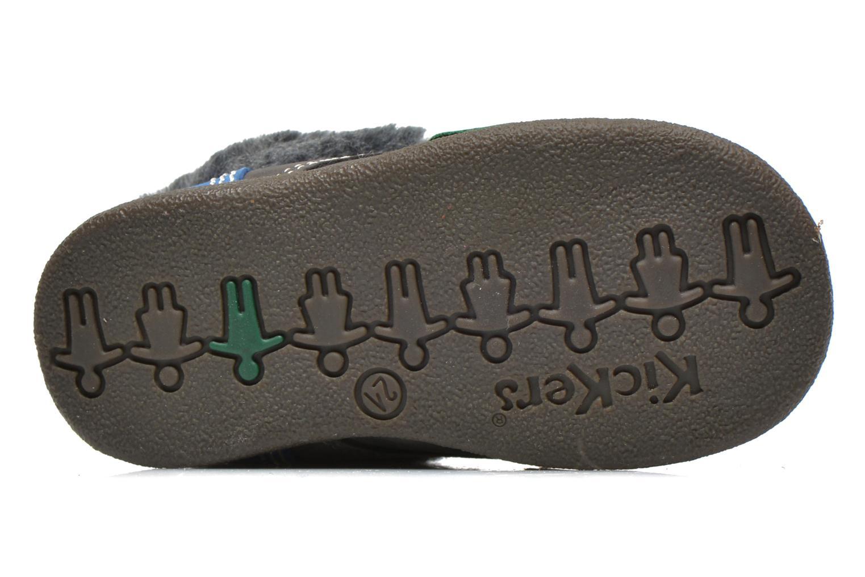 Stiefeletten & Boots Kickers Babyfrost grau ansicht von oben
