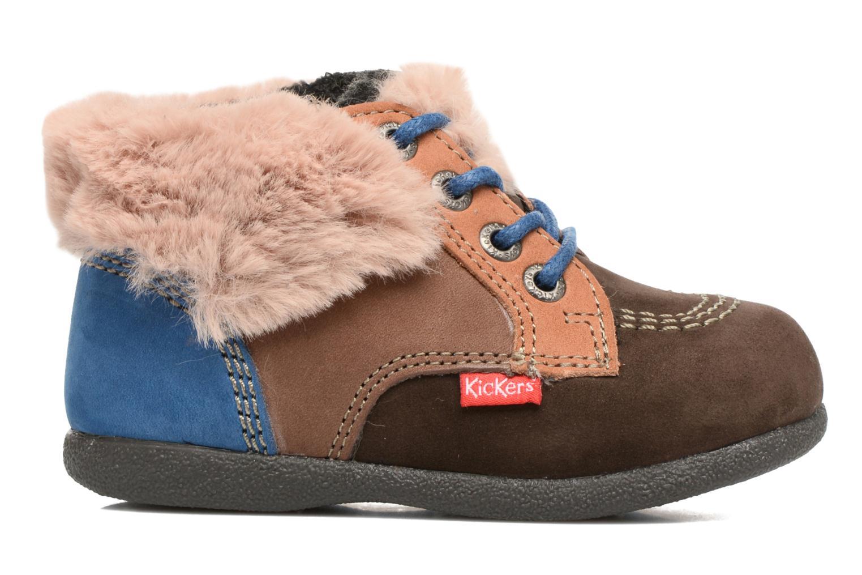 Bottines et boots Kickers Babyfrost Marron vue derrière