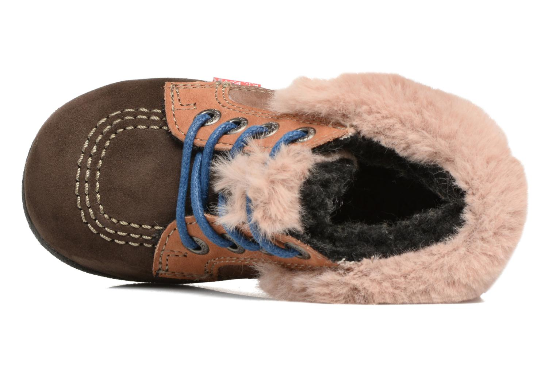 Bottines et boots Kickers Babyfrost Marron vue gauche