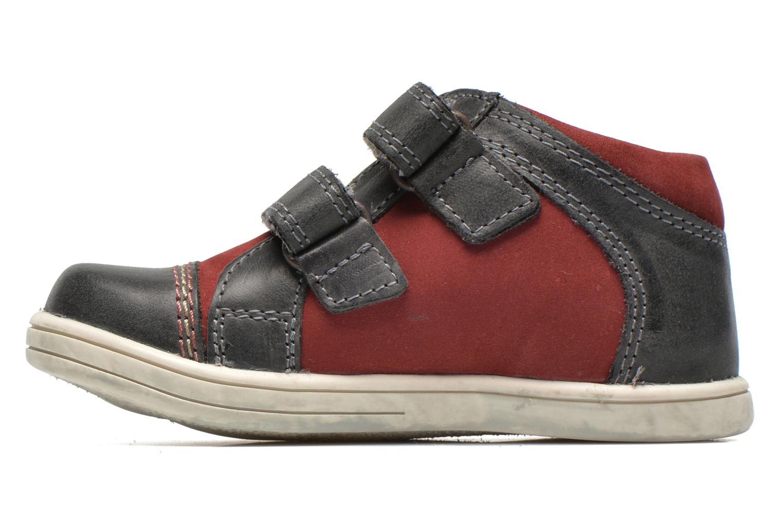 Chaussures à scratch Kickers Trala Gris vue face