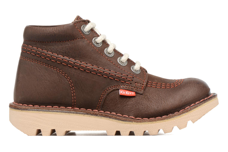 Chaussures à lacets Kickers Neorallye Marron vue derrière