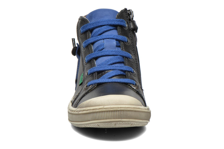 Baskets Kickers Iguastomp Noir vue portées chaussures