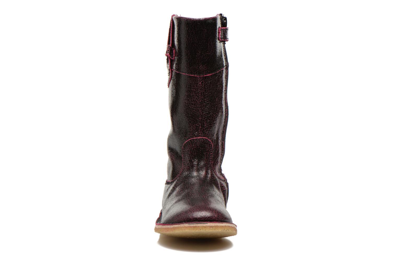 Bottes Kickers Cresis Noir vue portées chaussures