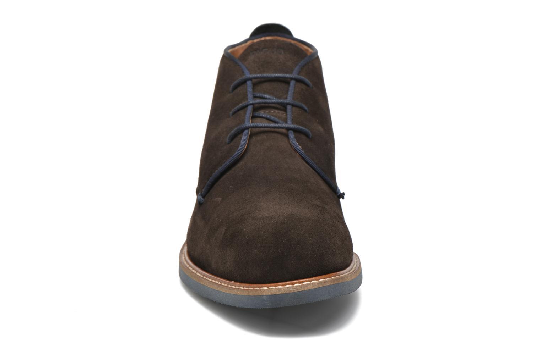 Chaussures à lacets Faguo Lime Noir vue portées chaussures