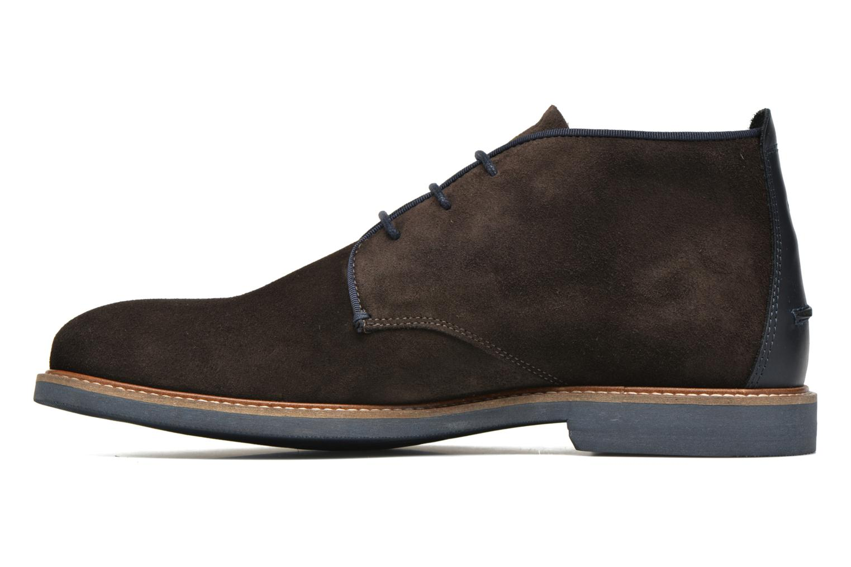 Chaussures à lacets Faguo Lime Noir vue face