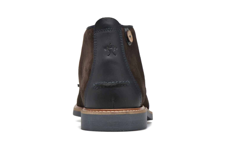Chaussures à lacets Faguo Lime Noir vue droite