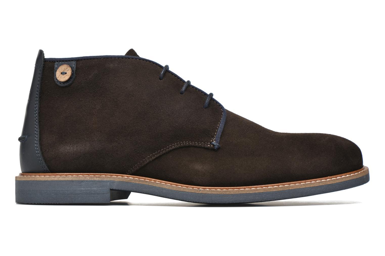 Chaussures à lacets Faguo Lime Noir vue derrière