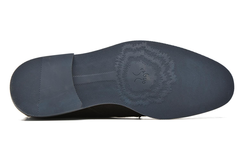 Chaussures à lacets Faguo Lime Noir vue haut