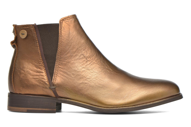 Bottines et boots Faguo Cherry Or et bronze vue derrière