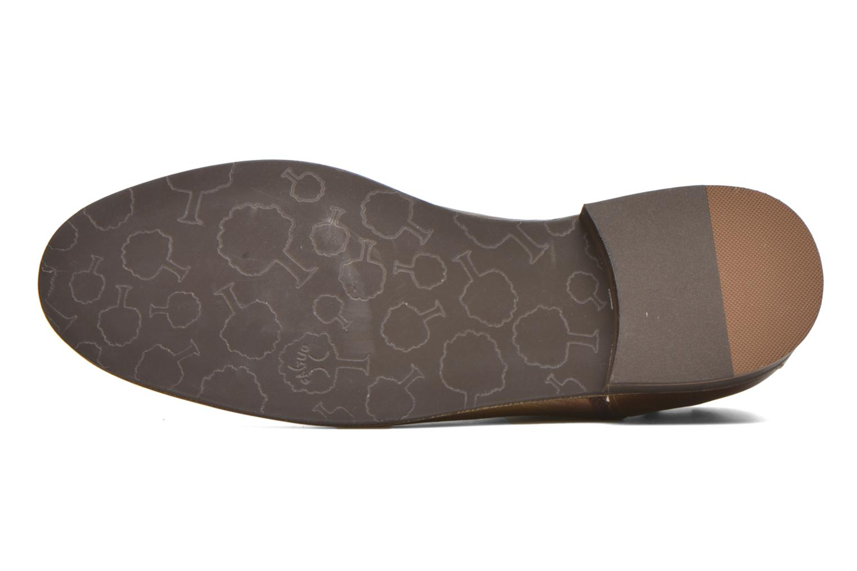 Bottines et boots Faguo Cherry Or et bronze vue haut