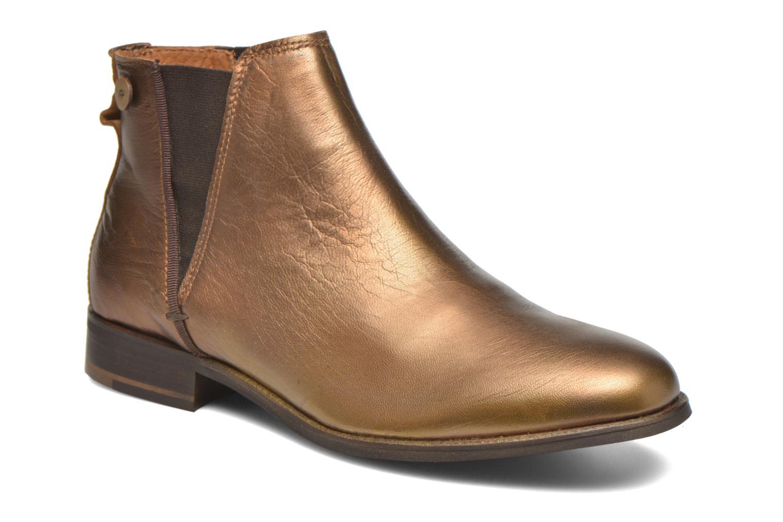Bottines et boots Faguo Cherry Or et bronze vue détail/paire