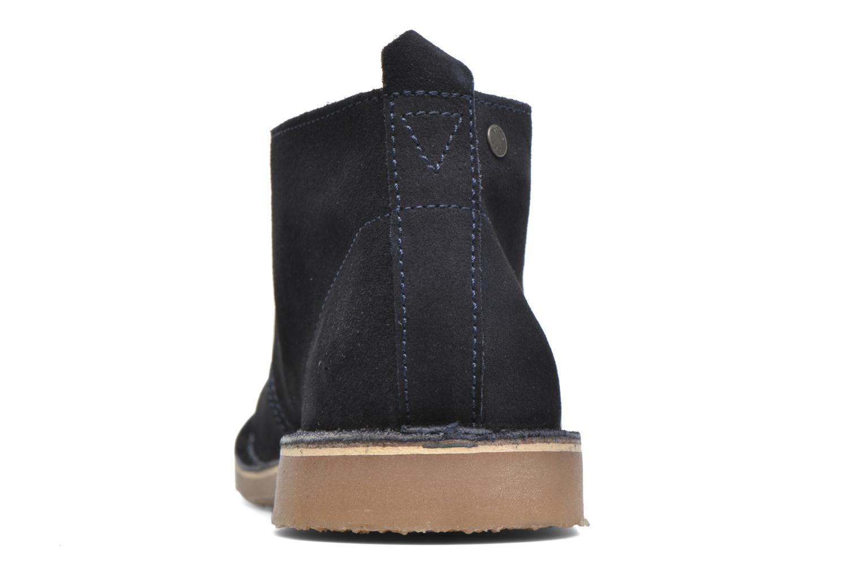 Scarpe con lacci Jack & Jones JJ Gobi Suede Desert Boot Azzurro immagine destra