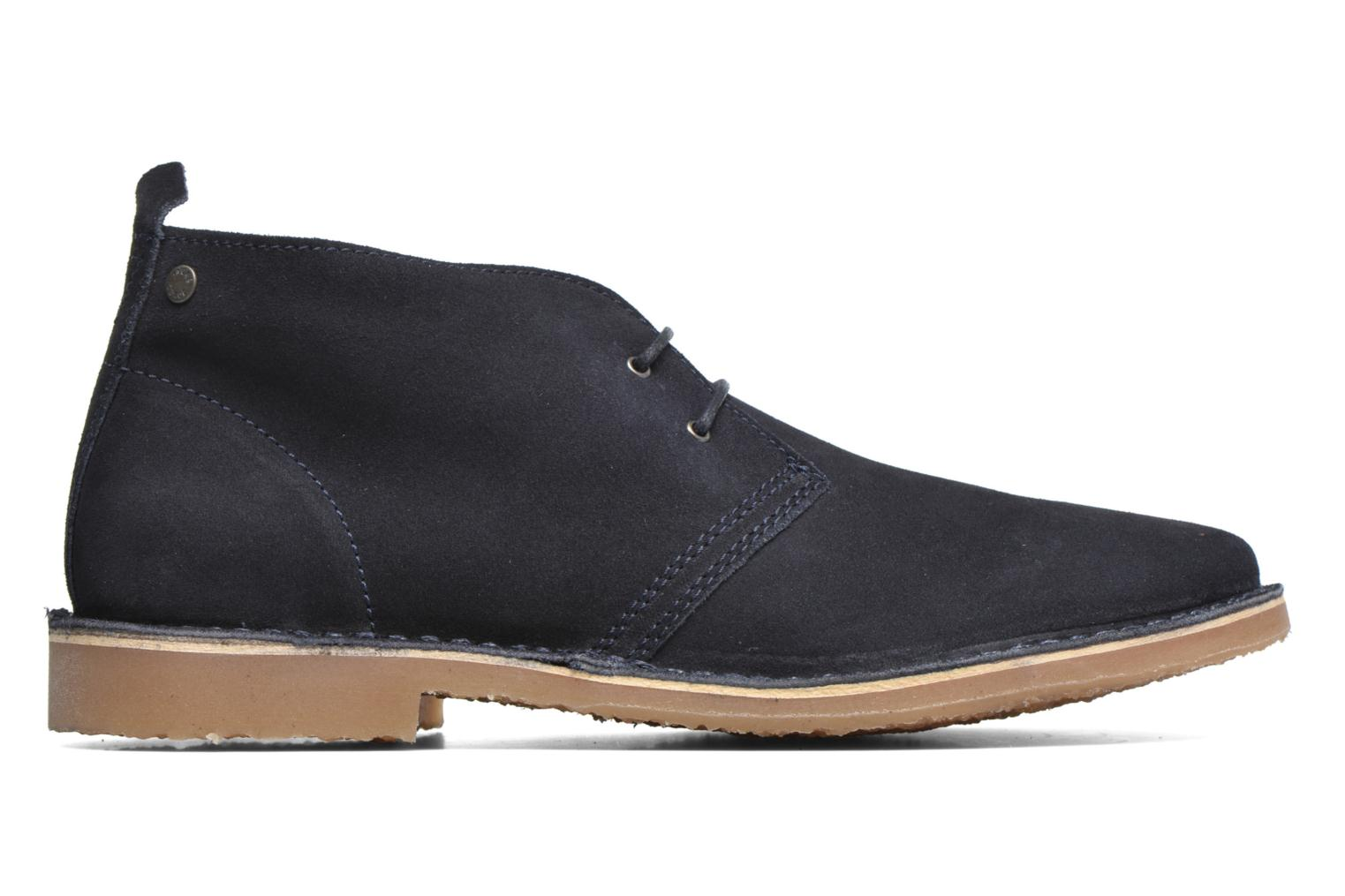 Lace-up shoes Jack & Jones JJ Gobi Suede Desert Boot Blue back view