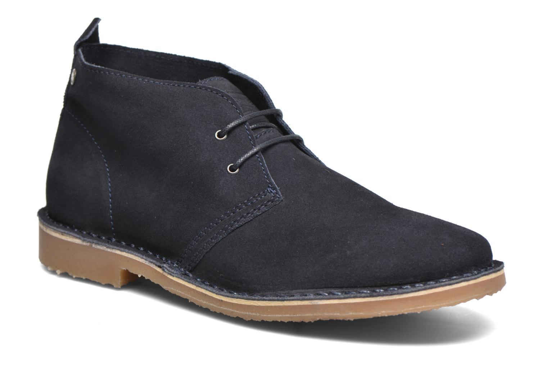 Veterschoenen Jack & Jones JJ Gobi Suede Desert Boot Blauw detail