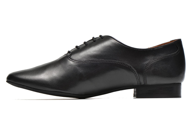Chaussures à lacets COSMOPARIS Viani Noir vue face