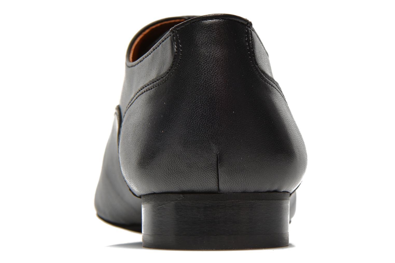 Chaussures à lacets COSMOPARIS Viani Noir vue droite