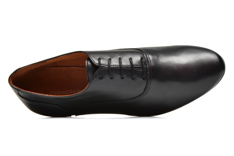 Chaussures à lacets COSMOPARIS Viani Noir vue gauche