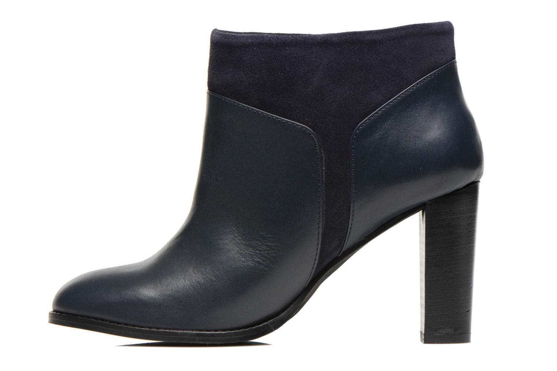 Bottines et boots COSMOPARIS Valaya/bi Bleu vue face