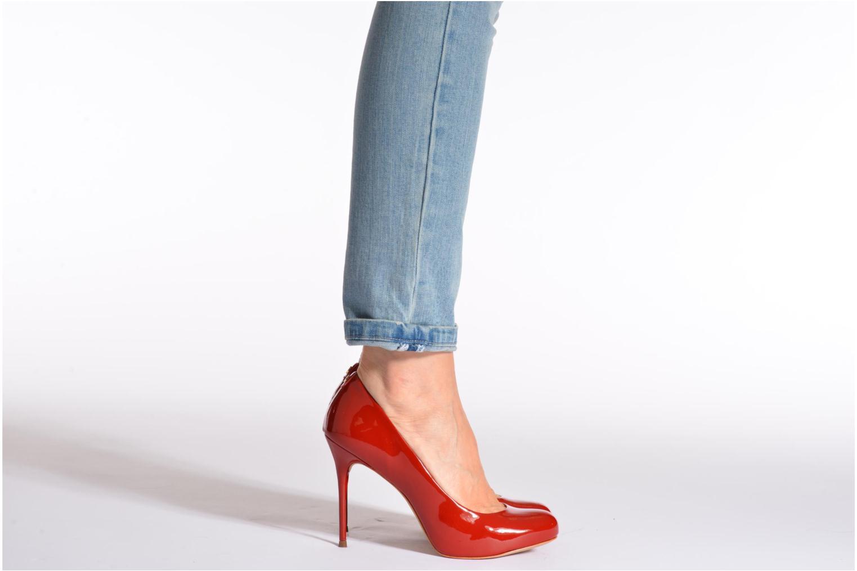High heels COSMOPARIS JollaneVer Black view from underneath / model view