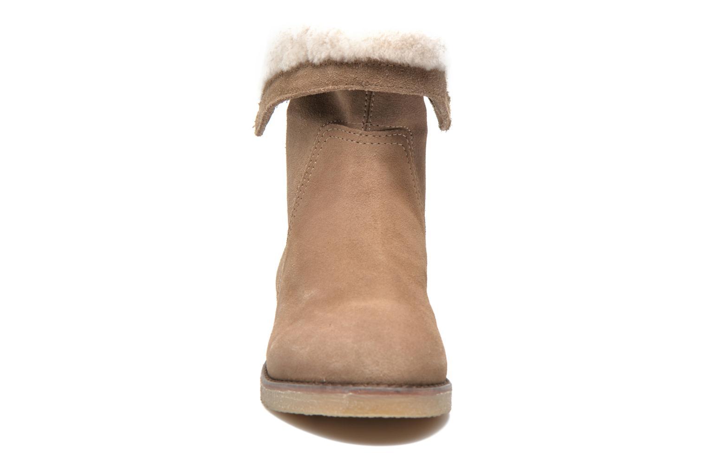 Bottines et boots COSMOPARIS Zuma Beige vue portées chaussures