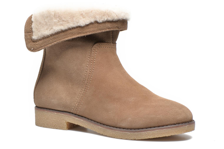 Bottines et boots COSMOPARIS Zuma Beige vue détail/paire