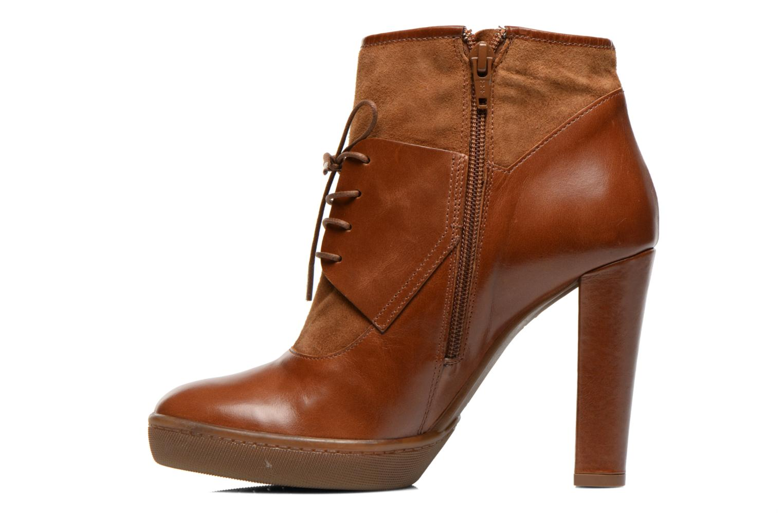 Bottines et boots COSMOPARIS Edea Marron vue face