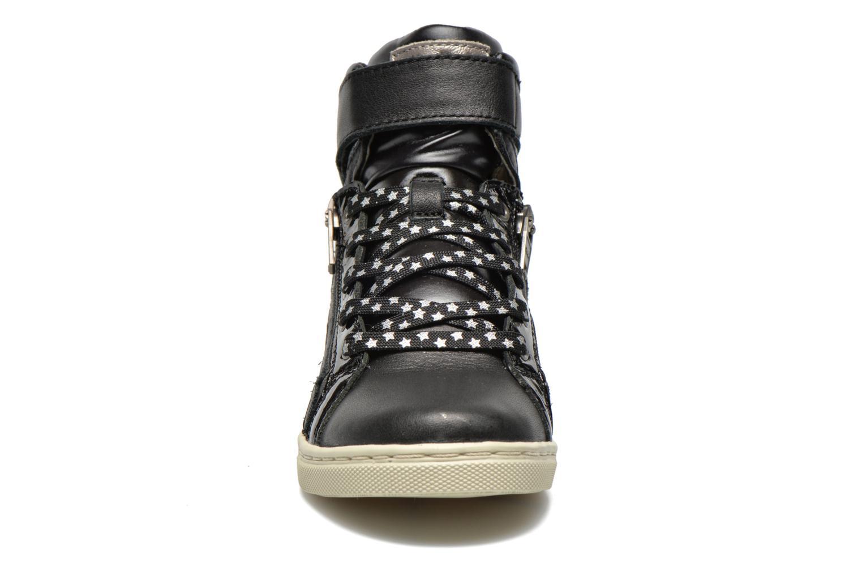 Baskets P-L-D-M By Palladium Velada VERNI Noir vue portées chaussures