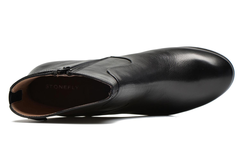 Bottines et boots Stonefly Greta 4 Noir vue gauche