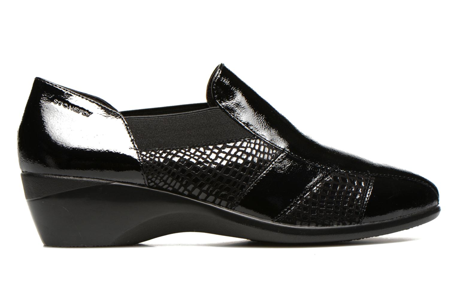 Loafers Stonefly Licia 23 Black back view