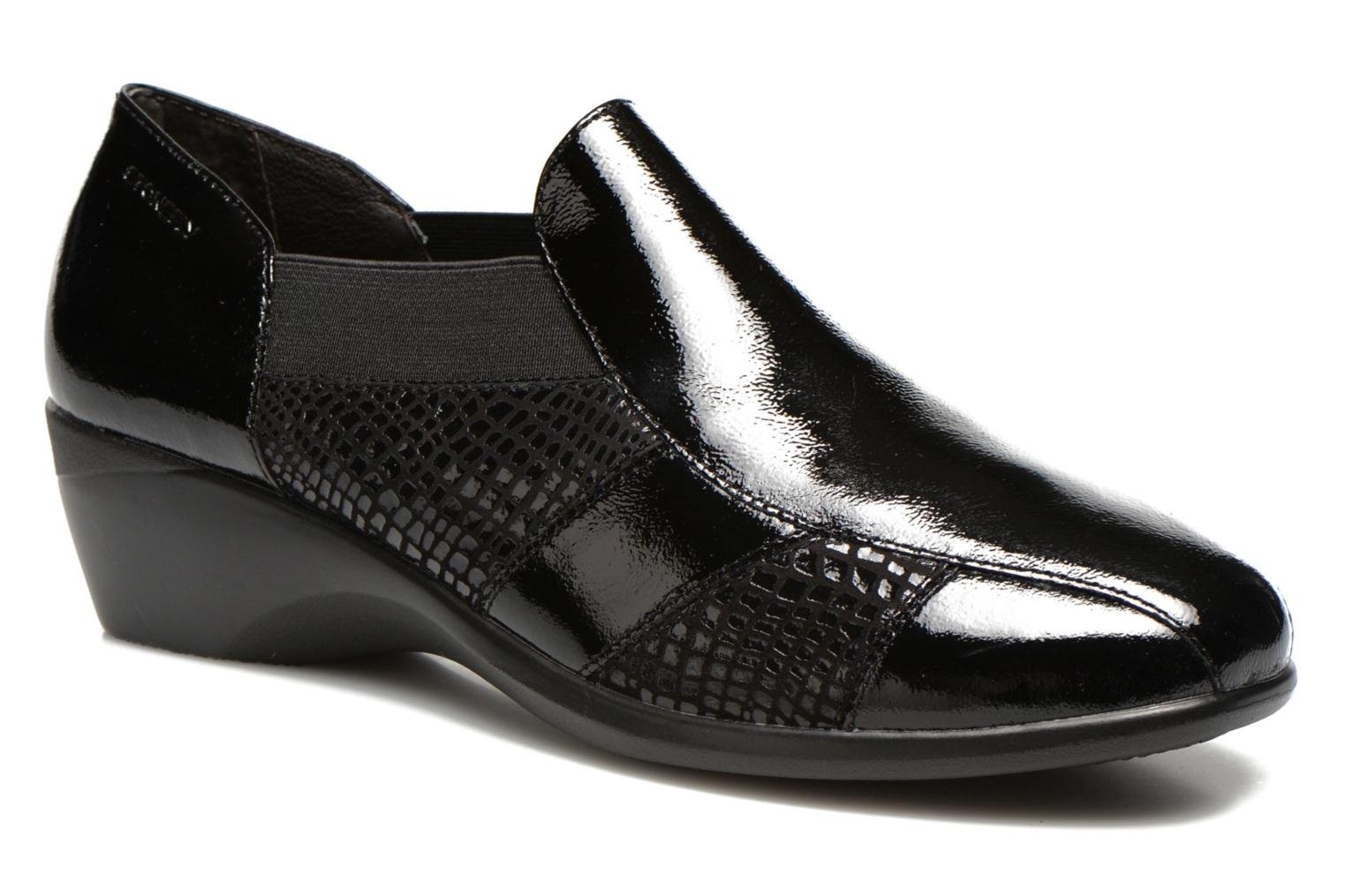 Loafers Stonefly Licia 23 Black detailed view/ Pair view