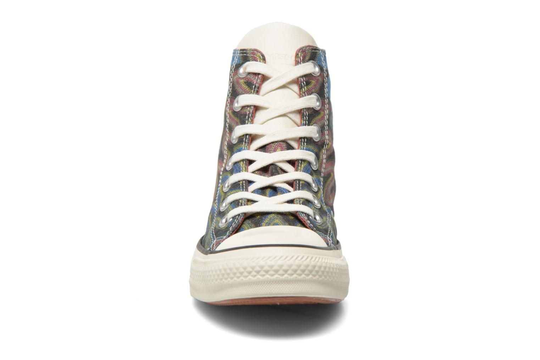 Baskets Converse Chuck Taylor All Star Missoni Hi W Multicolore vue portées chaussures