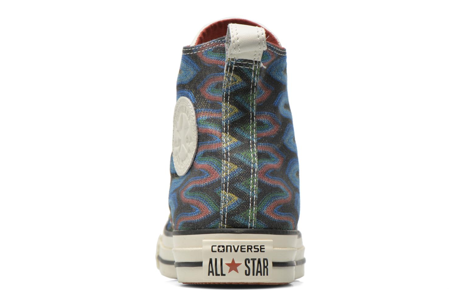 Baskets Converse Chuck Taylor All Star Missoni Hi W Multicolore vue droite
